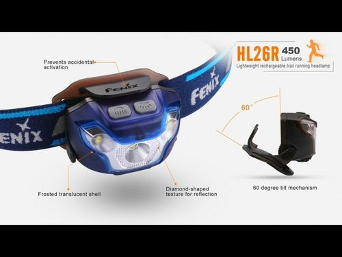 Frontal HL26R Recargable
