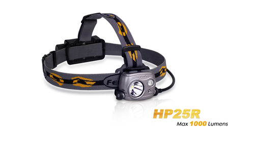 Linterna frontal Fenix HP25R recargable .