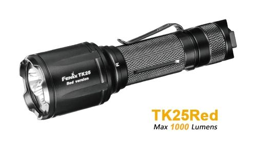 Linterna Fenix TK25RED-Kit de caza
