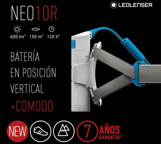 Frontal Led Lenser Neo10R