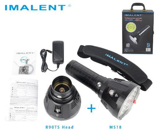 kit Imalent MS18 y R90TS