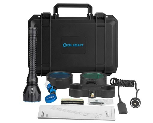 Linterna Olight Javelot Pro kit de caza