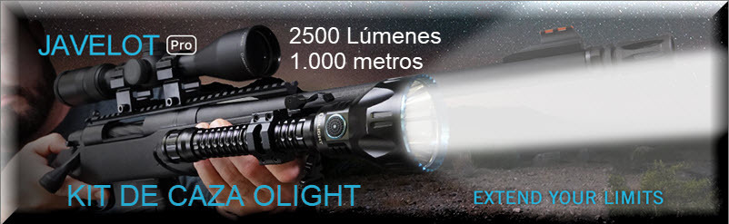Kit de Caza Olight Javelot Pro
